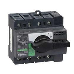 Interruttore/sezionatore Compact INS80 80 A 4 poli