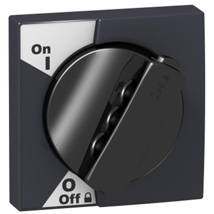 Manopola nera per iC60 Schneider