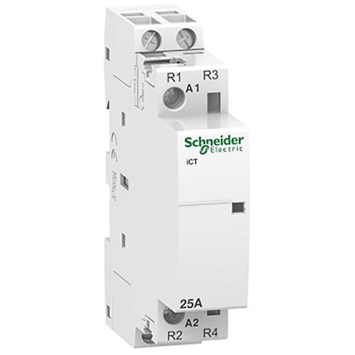 Contattore iCT 2NA 25A Schneider comando 230÷240Vca