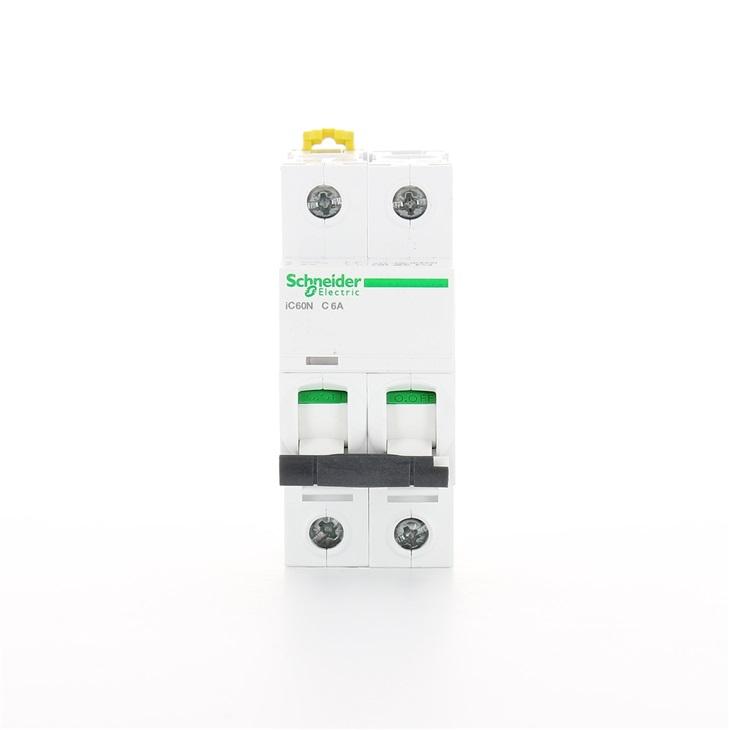 Interruttore modulare magnetotermico iC60N 2P C 6A 6000A