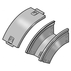 P31-Curva In Discesa 45  100X75 Z Bticino Spa