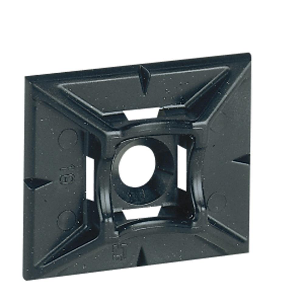 Embase Adhesive Noire