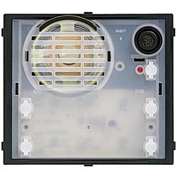 Modulo fonico per la realizzazione di impianti citofonici 2 FILI dotato di 2 tasti di chiamata SFERA Classic