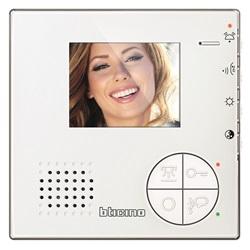 Videocitofono 2 Fili vivavoce a colori per installazione da parete o da tavolo Classe 100
