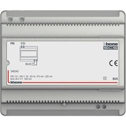 Alimentatore per impianti audio 2 FILI in custodia modulare 6 DIN