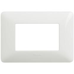 Placca 3 moduli colore bianco