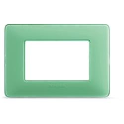 Matix - Placca 3P Colors Te Verde Bticino Spa