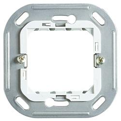 Supporto in resina e acciaio inox a 2 moduli 71X71