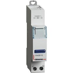 BTDIN - SINGOLA LED BLU 110/400V AC