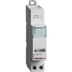 BTDIN- SINGOLA LED TRASPA. 12/48V A