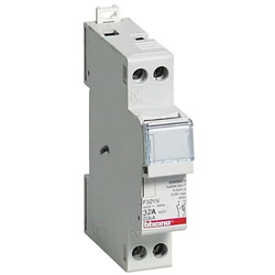 Portafusibile sezionatore 1P+N - 32A - 500V - fusibili tipo F (10,3x38 mm) - 1 modulo