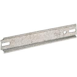 Guida DIN35 per adattare a scatole preesistenti i centralini da incasso in resina per E215P/12D