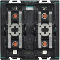 Comando per carichi singoli o doppi a 2 moduli