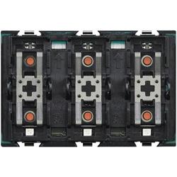 Comando per carichi singoli o doppi a 3 moduli
