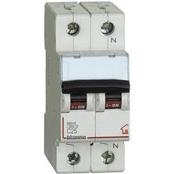 Interruttore Magnetotermico 1P+N curva C 4,5kA  2 moduli DIN