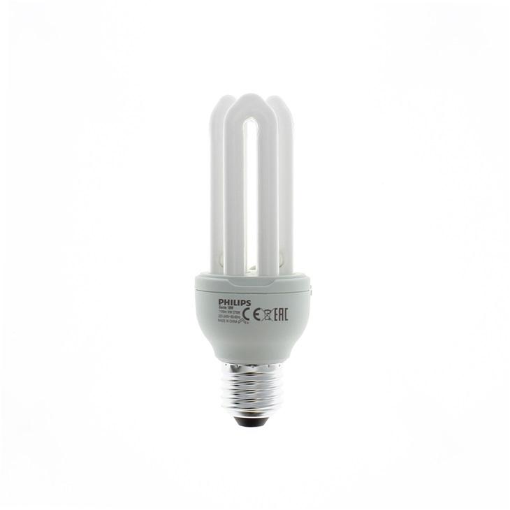 Lampada Fluorescente compatta Integrata Genie 18W WW E27 220-240V 1PF/6