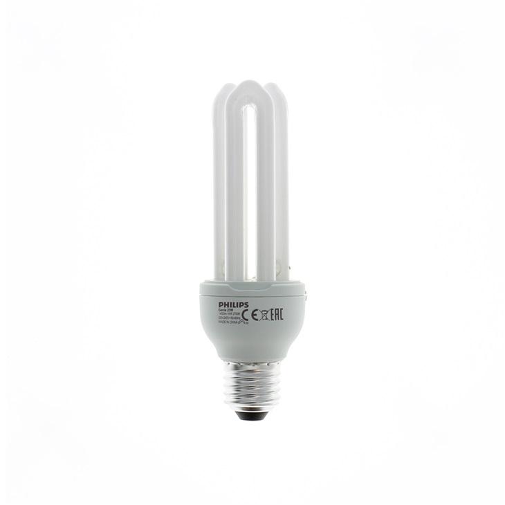 Lampada Fluorescente compatta Integrata Genie 23W WW E27 220-240V 1PF/6