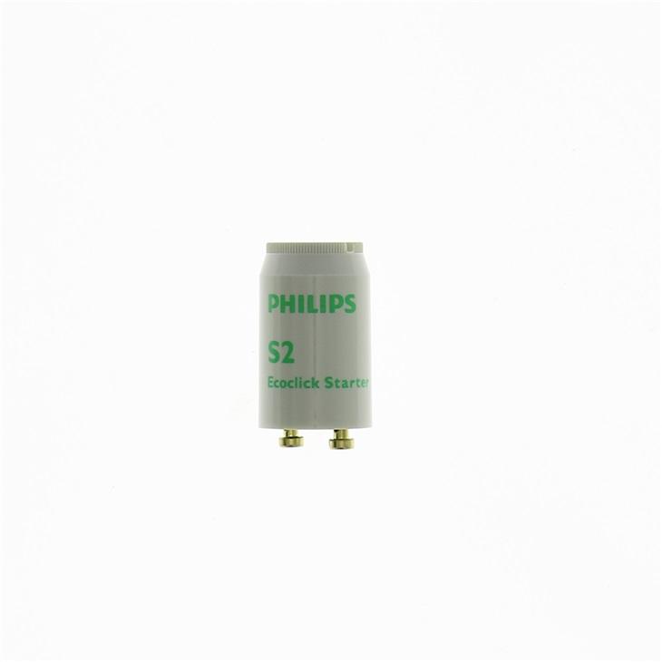 Starter per Lampade Fluorescenti S2 4-22W SER 220-240V WH EUR/12X25C