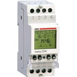 Interruttore orario digitale con programmazione giornaliera o settimanale per la gestione dei carichi elettrici con la massima precisione