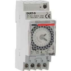 Interruttore orario elettromeccanico DUET-D