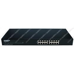 Switch 16 porte RJ45 10/100/1000 Mbps (rackable 19)