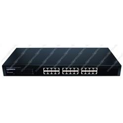 Switch 24 porte RJ45 10/100/1000 Mbps (rackable 19)