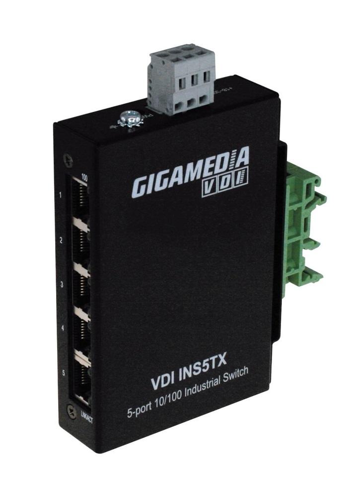 Switch 5 porte RJ45 10/100 (involucro plastica)