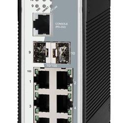 6 porte RJ45 10/100/1000 + 2 slot SFP Combo (GIGA + Fast Ethernet)