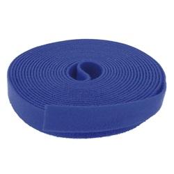 Fascette stringicavo 5 m x 20 mm Blu
