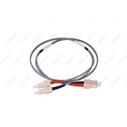 Patch cord ottica DUPLEX OM3 50/125 µm - SC/SC - 1 m Giallo