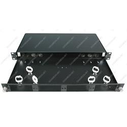 Cassetto ottico modulare 4 slot vuoti - Nero