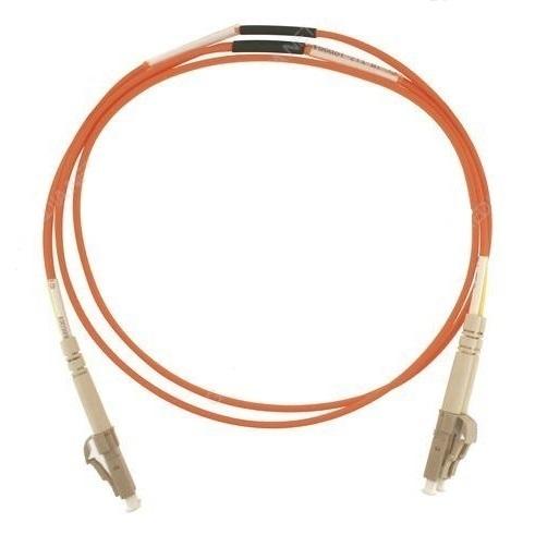 Patch cord ottica DUPLEX OM2 50/125 µm - LC/SC - 1 m Arancione