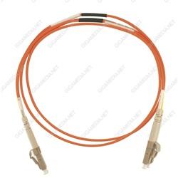 Patch cord ottica DUPLEX OM2 50/125 µm - LC/LC - 1 m Arancione