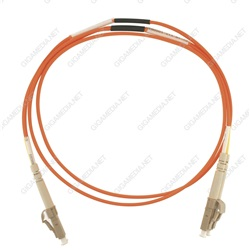 Patch cord ottica DUPLEX OM2 50/125 µm - LC/LC - 2 m Arancione