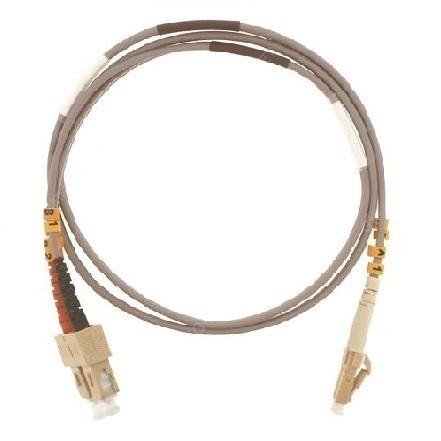 Patch cord ottica DUPLEX OM3 50/125 µm - LC/SC - 2 m Giallo