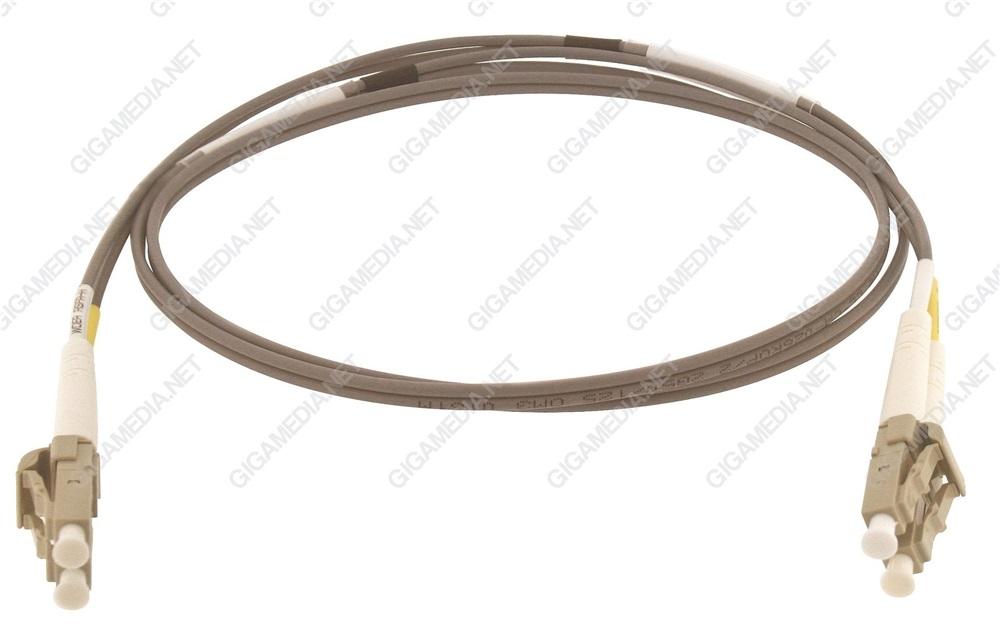 Patch cord ottica DUPLEX OM3 50/125 µm - LC/LC -2 m Giallo