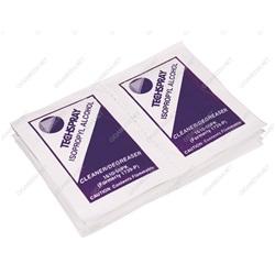 Salviette imbevute di alcool isopropilico (set di 50 pezzi)