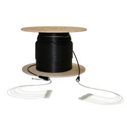 Fibra ottica 6 fibre OM2 50/125 μm SC/SC Bobina da 100 metri