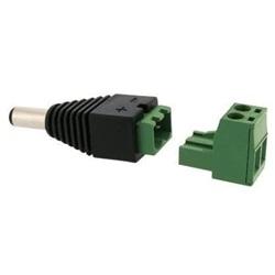 Adattatore connettore maschio (courte) Ø 5.2 mm verso blocco terminale a vite amovibile