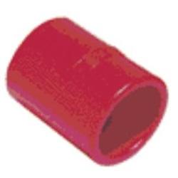 Manicotto FE-FE di giunzione tubo/tubo, in ABS, di colore rosso