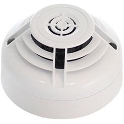 Rivelatore termovelocimetrico indirizzabile di colore bianco senza base