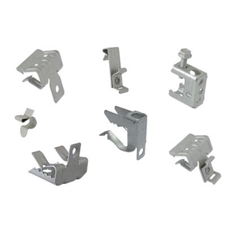 Clip Base Orizzontale Per Trave Sp. 4-10Mm Serie Easy