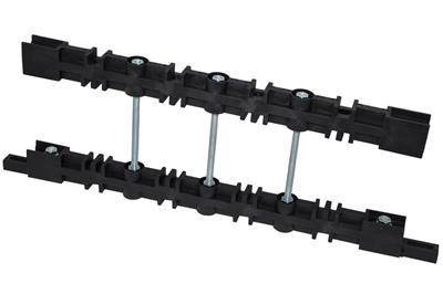 Profilo Alluminio Preforato Ωtop L.2Mt.