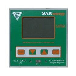 Regolatore elettronico a microporcessore per rifasamento