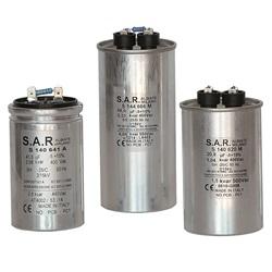 Condensatore cilindrico monofase