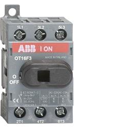 Interruttore di manovra-sezionatori OT 16…160 A OT63F3 63A (AC21 <= 400 V) - 45A (AC23 <= 400 V)