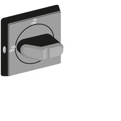Accessori per sezionatori OT, OTDC, OT_C e OTM OHBS2AJ nera, lucch., blocco porta per OT 16...125F e OTDC16…32F
