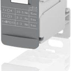 Morsetto Ripartitore Unipolare 125A - DBL125