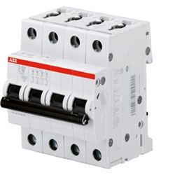 interruttore magnetotermico 10kA Curva D 16A