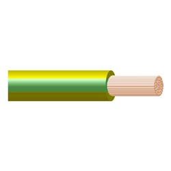 Cavo FleG H07Z1-K 1G1,5 Giallo/Verde Terra Matassa